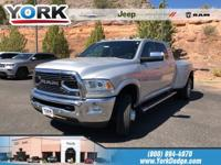 Bright Silver Clearcoat Metallic 2016 Ram 3500 Limited