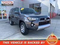 2016 Toyota 4Runner Trail 4WD, ABS brakes, Alloy