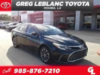 Clean CARFAX. CARFAX One-Owner.Gray 2016 Toyota Avalon