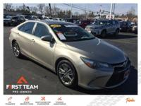 SE trim. Toyota Certified, Excellent Condition, GREAT