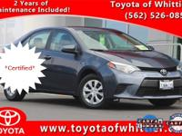 Take a look at this Toyota Certified 2016 Toyota