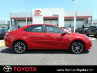 Barcelona Red Metallic 2016 Toyota Corolla S Plus FWD
