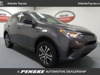 CARFAX 1-Owner, Toyota Certified. LE trim, Magnetic