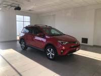 CARFAX One-Owner. Clean CARFAX. Certified. RAV4 XLE, 4D