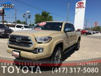 Quicksand Toyota Tacoma Limited ****ANOTHER FLETCHER