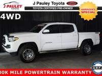 This certified 2016 Toyota Tacoma SR5 was originally