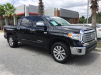 CARFAX One-Owner. 2016 Toyota Certified. Tundra Limited