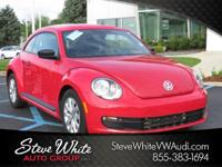 CARFAX One-Owner. Tornado Red 2016 Volkswagen Beetle
