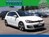 CARFAX One-Owner VW Certified 2016 Golf GTI Autobahn