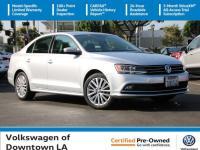 Certified. Reflex Silver Metallic 2016 Volkswagen Jetta