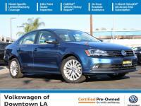 Certified. Silk 2016 Volkswagen Jetta 1.8T SEL Multi