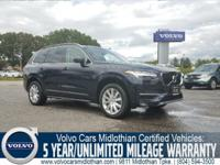 Certified 2016 Volvo XC90 T6 Momentum AWD at Volvo of