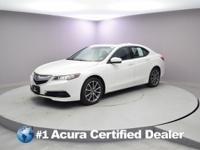 Certified. 2017 Acura TLX 3.5L V6 CARFAX One-Owner.