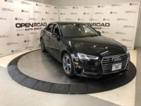 Audi Certified, Excellent Condition, CARFAX 1-Owner,