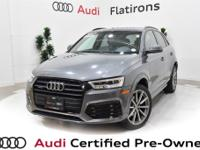 CARFAX 1-Owner, Dealer Inspected, Q3 2.0T Prestige
