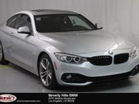 This Certified Pre-Owned 2017 BMW 430i has a Clean