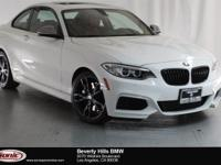 This Certified Pre-Owned 2017 BMW M240i is a One Owner