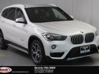 This Certified Pre-Owned 2017 BMW X1 sDrive28i is a One