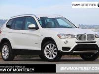BMW Certified, CARFAX 1-Owner, ONLY 25,008 Miles! EPA
