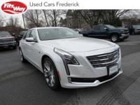 2017 Crystal White Cadillac CT6 8-Speed Automatic One