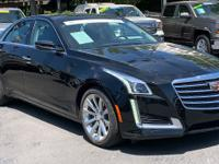 The 2017 CTS Sedan, the centerpiece of Cadillac s