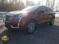 New Price! Certified. Red 2017 Cadillac XT5 Luxury AWD