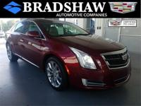 Recent Arrival! Red Passion Tintcoat 2017 Cadillac XTS