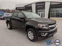 Certified. 2017 Chevrolet Colorado LT Blade Silver