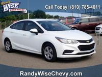 2017 Cruze LS Clean CARFAX One Owner - Back-Up Camera,