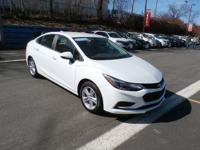 This is a one owner, clean Carfax, GM Certified Cruze