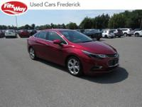 2017 Red Tintcoat Chevrolet Cruze 6-Speed Automatic