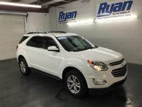 Summit White 2017 Chevrolet Equinox LT 1LT FWD 6-Speed