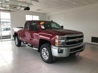 CARFAX One-Owner. Certified. Silverado 2500HD LT, 4D