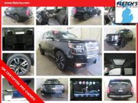 2017 Chevrolet Suburban Premier Black CARFAX One-Owner.
