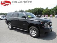 2017 Black Chevrolet Tahoe 6-Speed Automatic Electronic