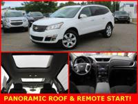 PANORAMIC SUNROOF, REMOTE START, HEATED SEATS, REAR