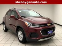 Crimson Metallic 2017 Chevrolet Trax LT One Owner,