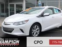 CARFAX One-Owner. Clean CARFAX. Pearl 2017 Chevrolet