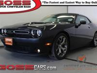 Steel metallic clearcoat 2017 Dodge Challenger SXT