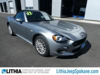 CARFAX 1-Owner, FIAT Certified, ONLY 7,150 Miles! PRICE