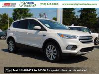 2017 Ford Escape Titanium FORD CERTIFIED Titanium White