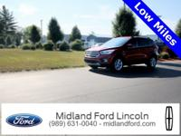 Escape Ford 2017 Red 6-Speed Automatic EcoBoost 1.5L I4