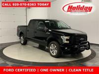 4WD | FORD CERTIFIED | ONE OWNER | CLEAN TITLE | SYNC 3