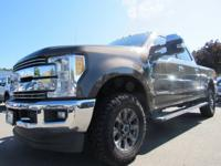 Certified. Caribou Metallic 2017 Ford F-350SD Lariat