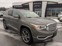 Certified. New Price! 2017 GMC Acadia Denali mineral