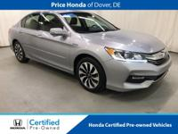 2017 Honda Accord Hybrid CARFAX One-Owner. Odometer is