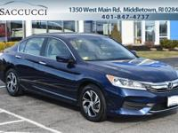 Honda True Certified! Obsidian Blue Pearl Exterior with