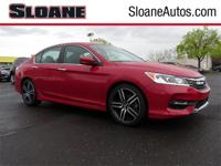 Accord Sport, 4D Sedan, Certified 7 yr 100,000 mile