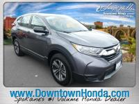 This outstanding example of a 2017 Honda CR-V LX is