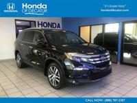 CARFAX 1-Owner, Honda Certified, LOW MILES - 26,138!